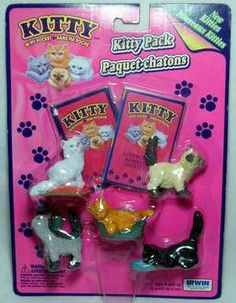 I had every one. Kitty In My Pocket (1994). Loved these!