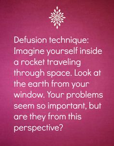 Relaxation tip. Great one! I agree completely. If you do that for 20-40, after that time.. you'll notice complete positive change in your physical, mental, emotional, social and spiritual life.  P.S. I would also add somehing - just look and observe space around you, Earth below you, galaxy around you while you are traveling. Don't think, don't juge.. just LOOK AND OBSERVE. You'll be relaxed like never before.