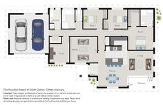 New Zealand house floor plans
