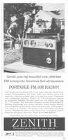 Zenith Royal 2000 Trans-Symphony Radio 1960 Ad Picture