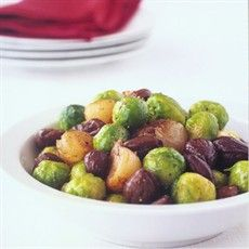 Sautéed Brussels Sprouts with Chestnuts - English - Recipes - from Delia Online