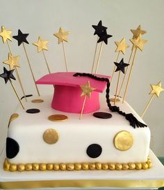 Torta Grado- Mis Delicias College Graduation Cakes, Graduation Gifts, Making Fondant, Black Fondant, Pastel Cakes, Fondant Icing, Graduation Decorations, Ideas Para Fiestas, Cake Decorating