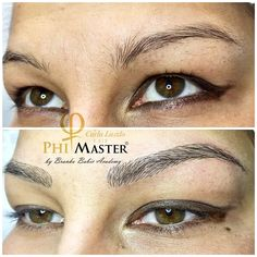 Microblading , natural eyebrows, Phibrows