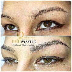 Microblading , natural eyebrows, Phibrows