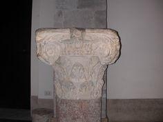 capitello romano, Cattedrale di Teano