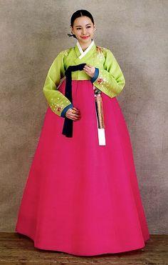 Korea - Jeogori (blouse), and Chima (skirt).