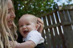 the sling diaries: hayley and talila babywearing beauty! #sakurabloom