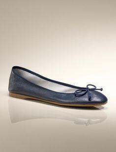 Talbots - Jilly Leather Ballet Flat | | Medium
