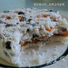 노란 호박이 예쁜 ....호박고지콩떡^^ – 레시피   Daum 요리