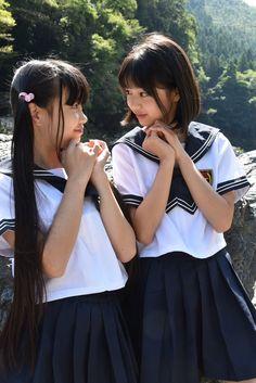 School Uniform Fashion, School Girl Outfit, School Uniform Girls, Girls Uniforms, High School Girls, Girl Outfits, Fashion Outfits, Asian Woman, Asian Girl