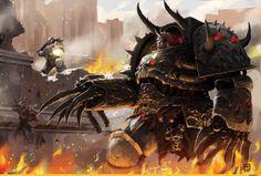 Warhammer 40000,warhammer40000, warhammer40k, warhammer 40k, ваха, сорокотысячник,фэндомы,Chaos (Wh 40000),CSM Terminators