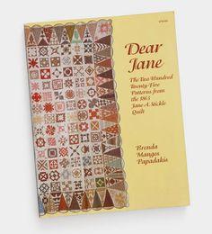 Libro de patrones Dear Jane
