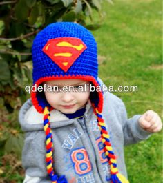 gorro de croche infantil super herois - Pesquisa Google