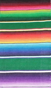 Fiesta   Serape Table Runner $9.45 Plus Shipping