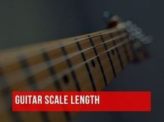 """is the """"scale length of my guitar""""? The scale length of your guitar, put simply, refers to the """"sounding length"""" of your guitar's strings. It is the length between … Guitar Chords Beginner Songs, Guitar Songs For Beginners, Basic Guitar Lessons, Guitar Chords For Songs, Music Theory Guitar, Music Guitar, Playing Guitar, Guitar Diy, Dj Music"""