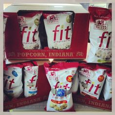 Can you spot the armband? We are obsessing over Popcorn Indiana's FIT popcorn!