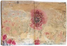 1, 2, 3. Nineveh (Ninife) - Book. Sand, photographs mounted on cardboard. 1997.  by Anselm Kiefer