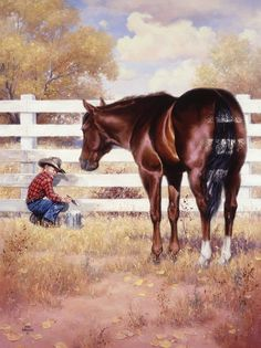 """Getting Behind in His Work"" ~ by Jack Sorenson"