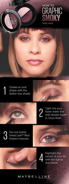 Rock a sixties-inspired graphic eye that pops on stage and off. Jess from ILoveLucius creates her using Maybelline eyeshadow. Explore more makeup ideas and tutorials at Maybelline Makeup Tips.