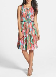 Definitely wearing this printed fit & flare dress in spring.