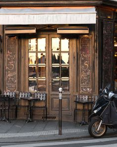 "The Paris Print Shop ++""Cafe St. Regis, Sunset"""