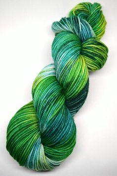hand dyed yarn hand painted yarn handpainted yarn superwash