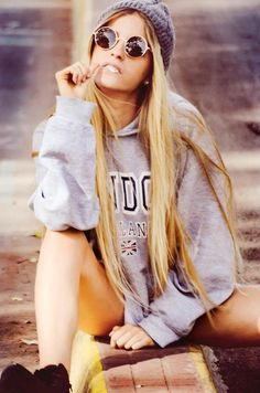 Love this tomboy look. Want the hat