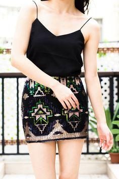 Disco Ball Skirt | Goodnight Macaroon