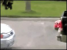 how to park a car // gif