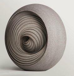 futuristische Skulpturen Designer Matthew Chanders
