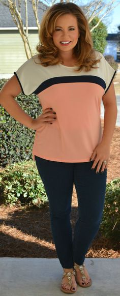 Perfectly Priscilla Boutique - Jenny From The Block Top, $36.00 (http://www.perfectlypriscilla.com/jenny-from-the-block-top/)