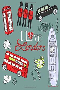 My Travel Journal: London Doodles, Travel Planner & Journal, 6 x 9, 139 Pages: My Travel Journal, Blank Book Billionaire: 9781514151914: Amazon.com: Books