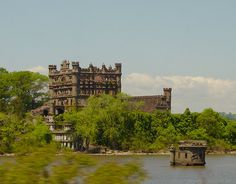 Bannerman's Island Castle near Fishkill, NY - I passed by this on the train and decided I must explore it!
