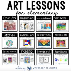 Art History - Whimsy Workshop Teaching You are in the right place about Art Education elementary Here we offer you the most beautiful pictures about the Art Ed Art History Timeline, Art History Lessons, History Memes, History Major, History Books, History Facts, Art Timeline, Programme D'art, Arte Elemental
