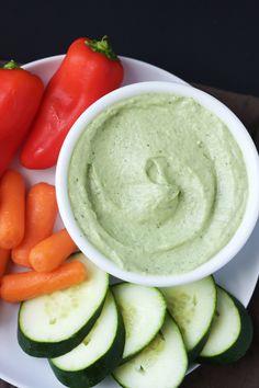 quick & easy artichoke sauce/dip for veggies or crackers