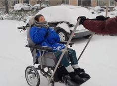 Wandelen in de sneeuw Baby Strollers, Children, Winter, Baby Prams, Young Children, Winter Time, Boys, Kids, Prams