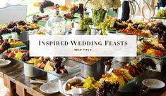 7 Tips for Creating a Delicious & Memorable Wedding Menu. Photography: Chrisman Studios. View catering tips: https://www.insideweddings.com/news/planning-design/7-tips-for-creating-a-delicious-memorable-wedding-menu/1997/