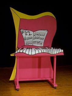 Seussical: Cats Piano by MirabellaTook.deviantart.com on @deviantART