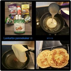 Lavkarbopannekaker Lchf, Keto, Thing 1, Nom Nom, Food And Drink, Cheese, Ethnic Recipes, Omelette