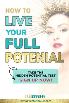 How to live your full potential - business articles to know yourself better. Then you're no longer lacking motivation but improve yourself with ease as well as joy and are starting to live a well lived life! Finding Purpose In Life, Life Purpose, Work Motivation, Motivation Inspiration, Business Articles, Business Tips, Your Best Life Now, Life Advice, Positive Life