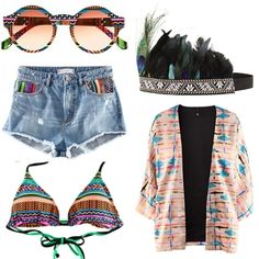 this would be so cute for summer, but you would have to be brave to pull this look off.