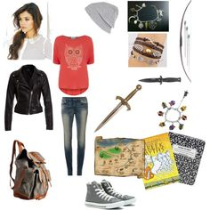 Daughter of Athena Demigod Outfit by directioner4life913, via Polyvore