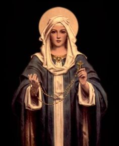 When you pray The Holy Rosary, Holy Mother comes instantly with Jesus to pray with you. Jesus is not separated from the Trinity so the Father and the… Praying The Rosary, Holy Rosary, Rosary Novena, Blessed Mother Mary, Blessed Virgin Mary, Catholic Art, Religious Art, Roman Catholic, Catholic Religion