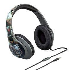 DC Comics Justice League Headphones by iHome, Multicolor