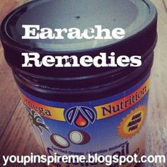 Miracle Earache Remedy herbsandoilshub.c...  Would you like a quick & easy earache home remedy that works for both kids and adults? Check out Jenn's earache remedy.