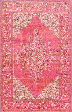 Pink Malmo Area Rug