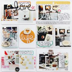 Project Life Week 46 using @Studio_Calico Printshop collection