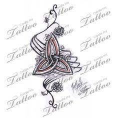 Celtic Mutterschaft Knot keltischer Mutterschaft Knot Tattoo Symbole für Familie irische symbol 3810