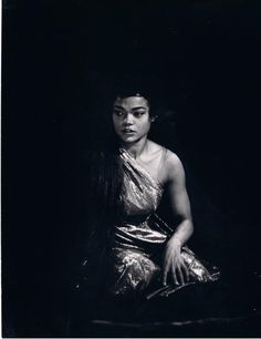 """Eartha Kitt in Oscar Wilde's """"Salome"""", 1955. ARE YOU KIDDING ME RIGHT NOW. I looooove Eartha, and I love Salome, and I can go die happy now."""