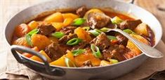 Beef and Butternut Squash Stew - Cancer Fighters Thrive South African Dishes, South African Recipes, Ethnic Recipes, Beef Loin, Butternut Squash Stew, Beef And Potato Stew, Stewed Potatoes, Tri Tip, Oxtail